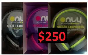Auriculares ONLY 11 con cable de 3,5mm