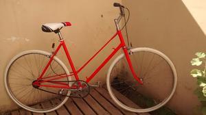 Bicicleta De Paseo Antigua Fixie Rodado 28 Todo Nuevo!!