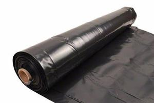 Cobertores plásticos negros para pintores y construcciones