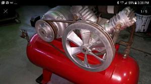 Compresor de aire trifasico 3 hp doble cabezal