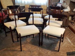 Juego de 8 sillas de comedor