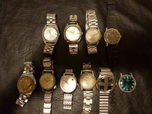 Lote De 10 Relojes Pulsera