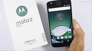 Motorola Moto Z Play XT gb 3 ram Turbo Huella Bamboo