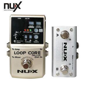 Pedal Looper Para Guitarra O Bajo Nux Deluxe Loop Core