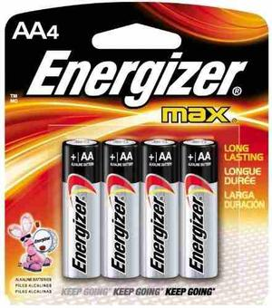 Pilas Energizer E-91 Aa Blister X 4