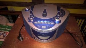 Reproductor de CD y cassetes con radio AM/FM Dahiatsu