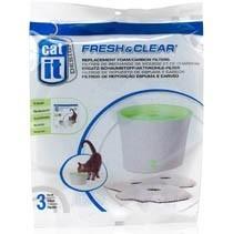 Repuesto X 3 Uni Filtro Cat It Para Gatos 3 Y 2 Lts Cat It