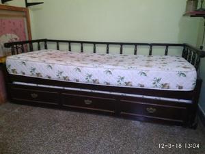 Sofá cama con colchones