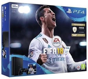 Sony PlayStation 4 slim 500 gb + FIFA 18