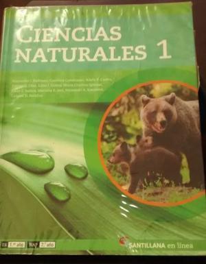 libro ciencias naturales 1 santillana