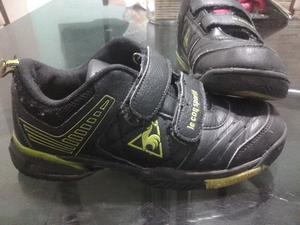 vendo zapatillas marca le cop sportif número a 32