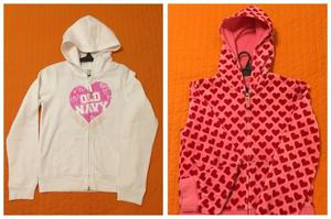 2 Camperas Old Navy Talle 10
