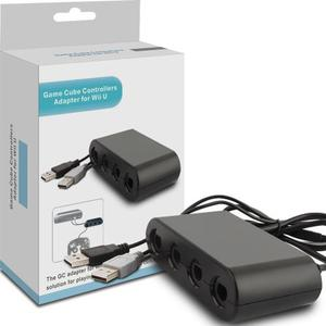 4 Puertos Adaptador Controlador De Gamecube Para Wii U De Ni