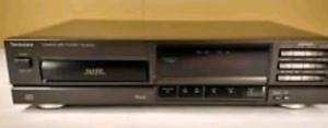 Cd Player Reproductor De Cd Profesional Technics Slpg 450