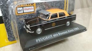 Colección Taxis Del Mundo Peugeot 404