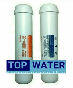 Combo De 2 Filtros, Service Y Acc. P/ Dispensers | Top Water