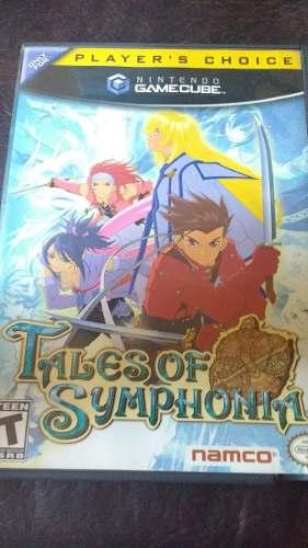 Gamecube: Tales Of Symphonia Y Naruto Clash Of Ninja 2