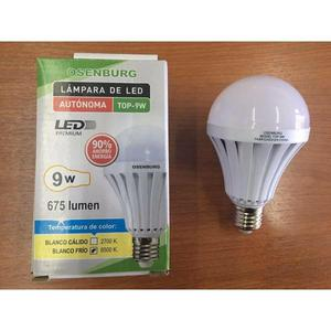 LAMPARA LED DE EMERGENCIA 9W. Autonomía 3H