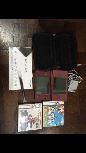 Nintendo Dsi Original Con Dos Juegos De Regalo