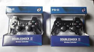 Oferta Pack X2 Control Joystick Inalámbrico Ps3 Play3