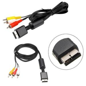 Cable Rca Av Audio Video Para Playstation Ps1 Ps2 Ps3 1,8m$