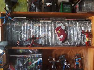 Coleccion Marvel Salvat Negra Lote