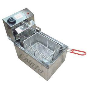 Freidora Electrica Roa 8 Lts Acero Inox Control Automático