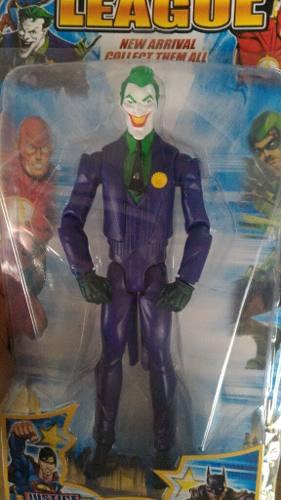 Muñeco Guason Joker O Flash 30cm Luz Y Sonido Artículado