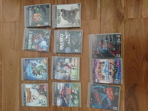 Vendo juegos ps3