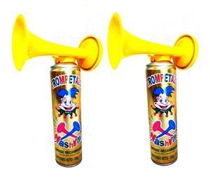 trompetas bocinas de cotillon kit x 6 nashville cordoba