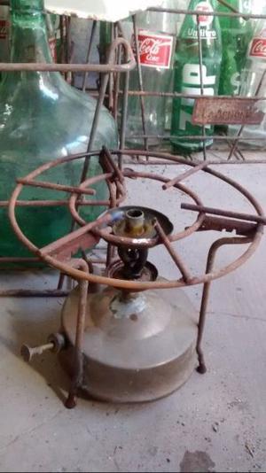 Antiguo calentador de bronce