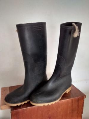 Botas de goma lluvia trabajo