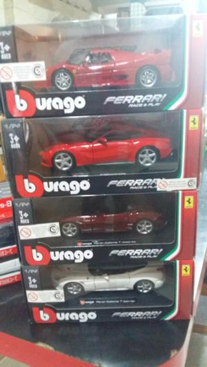 Colección Burago Ferrari