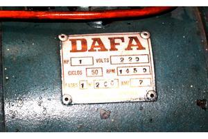 Compresor de aire Dafa