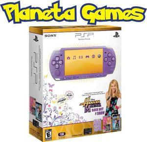 Consola Psp  Edicion Limitada Hannah Montana