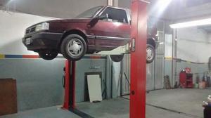 Elevador auto 2 columnas capacidad de carga  k