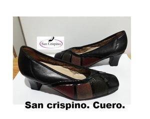 Hermosos zapatos San Crispino. Cuero auténtico. Numero 39.