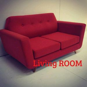 Sofa de living retro