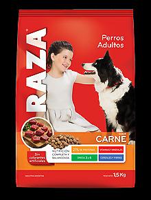 alimento para mascotas raza x 15 kg
