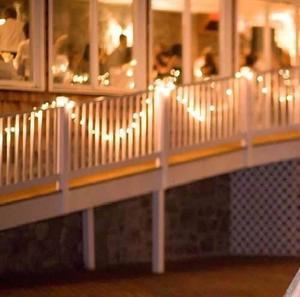 Guirnalda 30 Led Luz Calida + Pilas Apta Exterior
