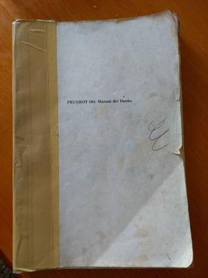 Manual del Usuario PEUGEOT 504