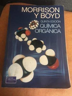 Química Orgánica -morrison Y Boyd 5ta Edición Entrega