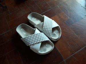 Sandalias blancas n 37