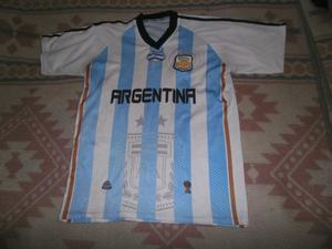 CAMISETA ARGENTINA MUNDIAL  TALLE L