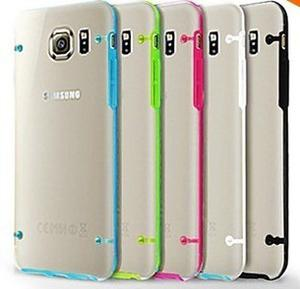 Funda Tpu Borde Color Galaxy S6 S6 Edge Plus S5 S4 Note 4 5