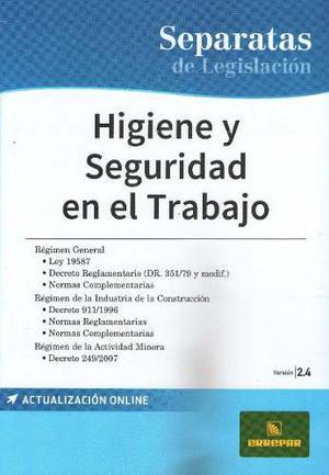 Higiene Y Seguridad En El Trabajo Ley  - Ed
