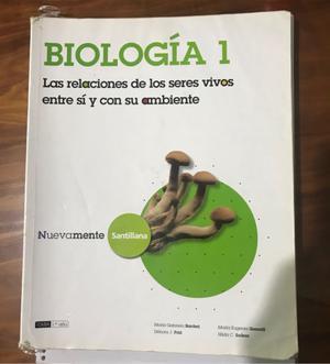 """Libro """"Biología 1"""""""