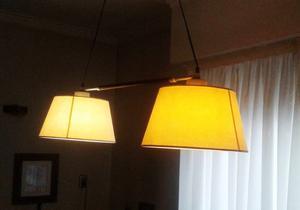 Vendo lámpara de 2 pantallas