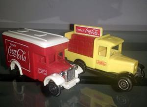 Colección Coca-cola Autos Camiones Escala Antiguos