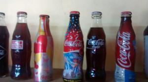 Colección De Botellitas De Coca Cola 11 En Total 800 X